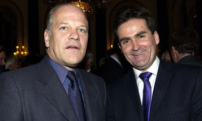 Notice 'anded in | Pundits Andy Gray and Richard Keys faced ignominy after their sexist diatribe was leaked. (Image | The Guardian)