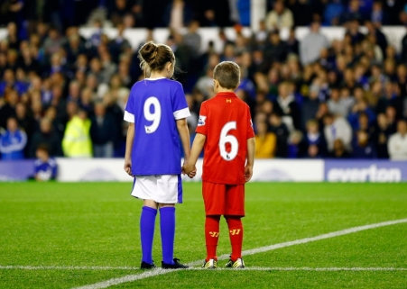 Touching | After the truth finally emerged about the Hillsborough Disaster, Everton paid the following tribute to the victims at Goodison Park. (Image | Euro News)