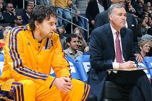 Pau Gasol is on his way to a permanent reserve role as the Lakers seek a more energetic starting five (Image | Getty)