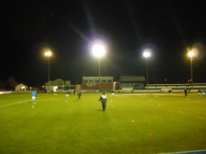 Billericay Town's home, New Lodge, might not be the Emirates but Edwards is proud to call it home (Image | nonleagueessex.blogspot.com)