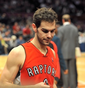 Jose Calderon's departure leaves a lot of pressure on Kyle Lowry but gives the Raptors a true star to rebuild around
