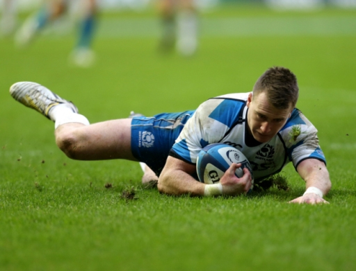Stu-perb | Scotland's Stuart Hogg scores a superb solo try against Italy at Murrayfield. (Image | Metro)