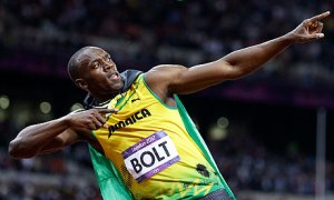 It's become one of the most copied celebrations in world sport - and the way Usain Bolt dominates sprinting at the moment, don't expect that to change (Image | AP)