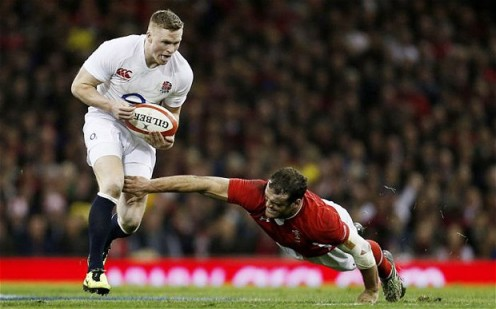 Lacklustre | Chris Ashton had a disappointing Six Nations for England, and needs to recapture his spark. (Image | The Telegraph)