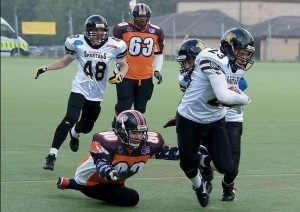 They may not be the most glamorous football team in Essex (albeit not by much), but Essex Spartans of the BANAFL are making big steps in building a franchise (Image | Romford Recorder)