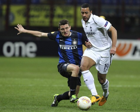 Super 8 | Moussa Dembélé, pictured against Inter Milan this week... (Image | Zimbio)