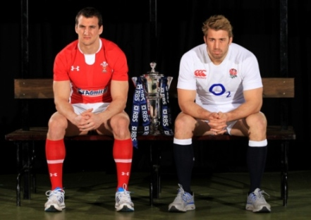 Decider | England captain Chris Robshaw and Welsh skipper Sam Warburton face off against each other this weekend for the 6 Nations crown. (Image | London24)