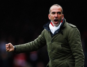 Paulo di Canio will be celebrating a step forward in his managerial career - but does he have what it takes to save Sunderland? (Image | Getty)