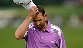 Sergio Garcia's concentration has been tested at Wentworth this week (Image | golfdigest.com)