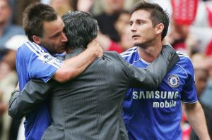 Putting the old gang back together? Frank Lampard is staying at Chelsea, who continue to be linked with former manager Jose Mourinho (Image | Getty)