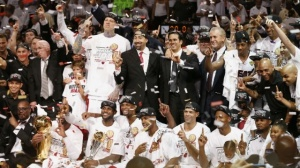 They had to work far harder for it than last time, but the Miami Heat are NBA Champions once again (Image | Reuters)