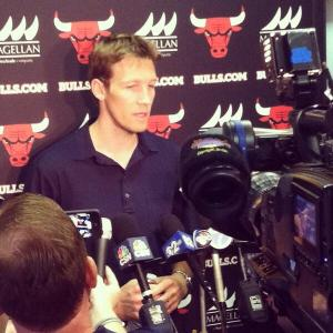 Mike Dunleavy's arrival is a welcome addition to the Bulls' beleaguered bench (Image | Chicago Bulls  Twitter)