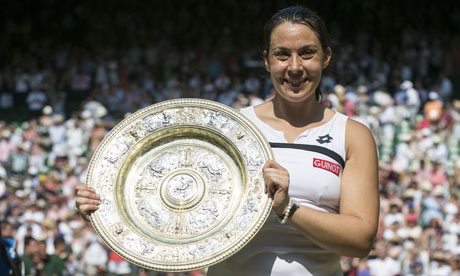 Overshadowed | Women's tennis is often ignored for a number of reasons, but the treatment of Marion Bartoli rightfully caused outrage. (Image | The Guardian)