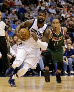 OJ Mayo and Monta Ellis are changing places for 2013-14 (Image | AP)