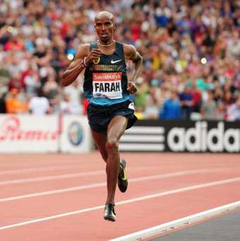 Expectation | As at the 2012 London Olympic Games, all eyes will be on Mo Farah, the main hope for British glory. (Image | Daily Express)