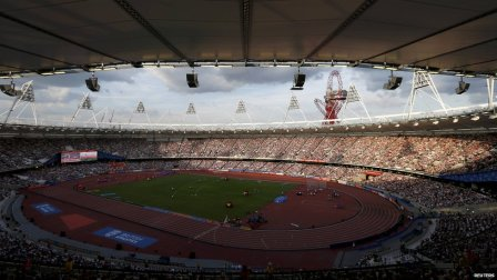 Full house | A year on from the London 2012 Olympic Games, the Olympic Stadium remains a special place. (Image | CBBC)