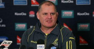 Coach Ewen McKenzie will have taken positives from the Australian performance, but there remains more to be done (Image | Sky)