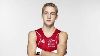 Fighting fit | Jack Bateson is in training for the 2014 Commonwealth Games. (Image | Sky Sports)